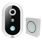 Wi-Fi Video Doorbell w/ HD 720P PIR Sensor 8G Memory Indoor Speaker
