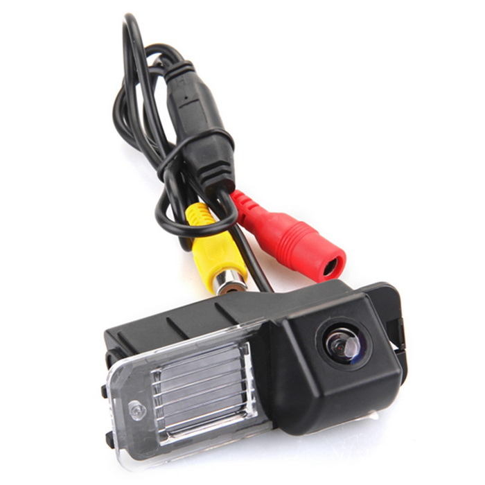 QooK JHRC76 Color CMOS 170° Car Rear View Reverse Camera