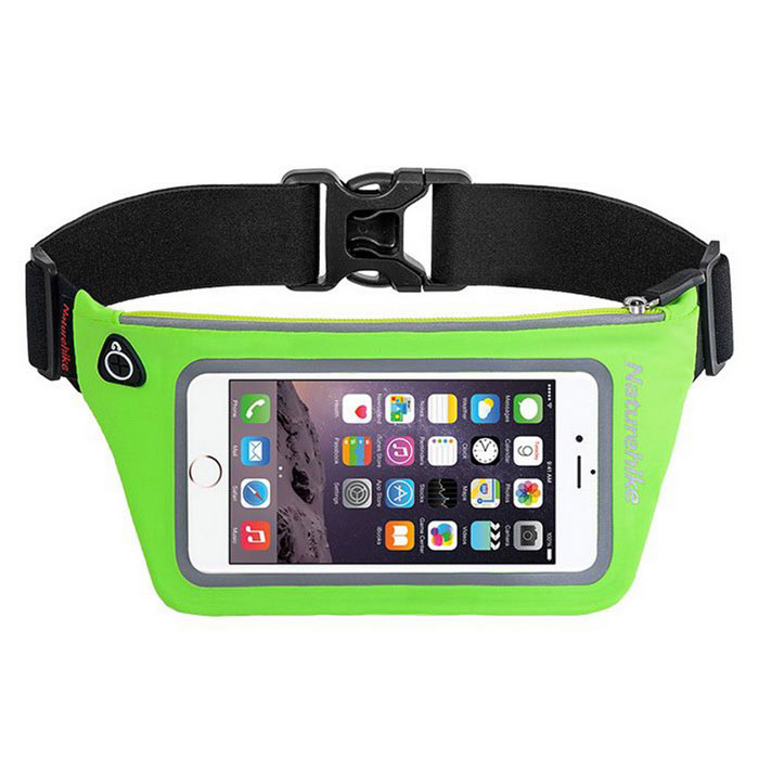 NatureHike Outdoor Sports Men / Women Running Belt Waist Bag - Green