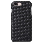 Grid Pattern Protective PC Hard Back Case Cover for IPHONE 7 Plus