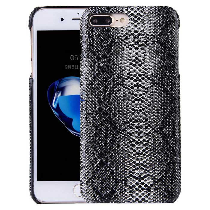 Snake Skin Pattern Protective PC Hard Back Case for IPHONE 7 Plus