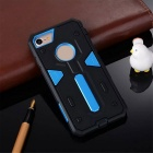 "Disassembly PC + TPU Back Case for IPHONE 7 4.7"" - Sky Blue + Black"