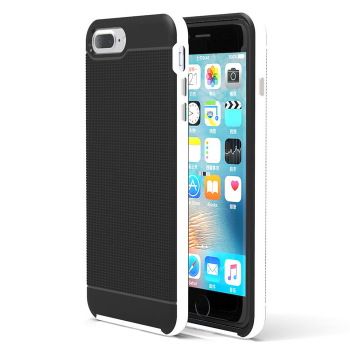 funda protectora de silicona para el IPHONE 7 PLUS - blanco