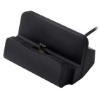 Micro USB / v8 Interface Universal Charger for Android Phones - Black