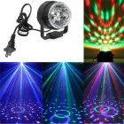 YWXLight 5W LED Stage Luz RGB Projetado Luz - Preto (US Plugs)
