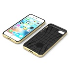 Protective Plastic Back Case for IPHONE 7 - Golden
