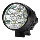 Super 7LED 3-Mode Neutral White LED Bike Light w/ Battery for Bicycle Electric Bicycle Electric Cars