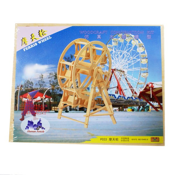 Woodcraft Construction Kit - Ferris Wheel