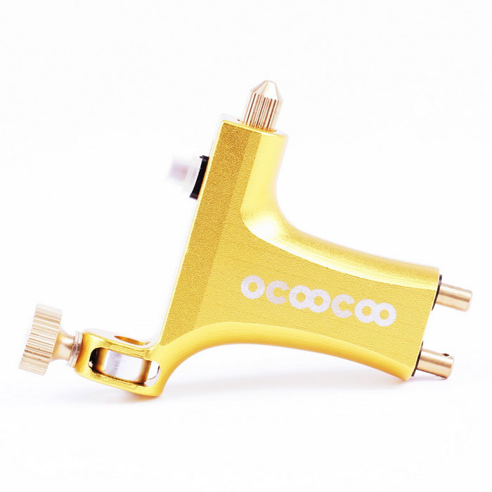 OCOOCOO Triceratops A600 Professional Motor Tattoo Machine - Golden
