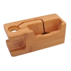 Small Wood Bracket with Charging Function - Yellow