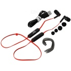 Jabees Bluetooth V4.0 In-ear Stereo Sports Earphone - Black + Red