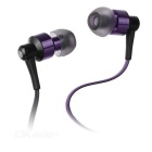 Ovleng NS8 Bluetooth Stereo Subwoofer Phone Headset - Black + Purple