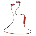 Ovleng NS8 Bluetooth Stereo Subwoofer Phone Headset - Black + Red
