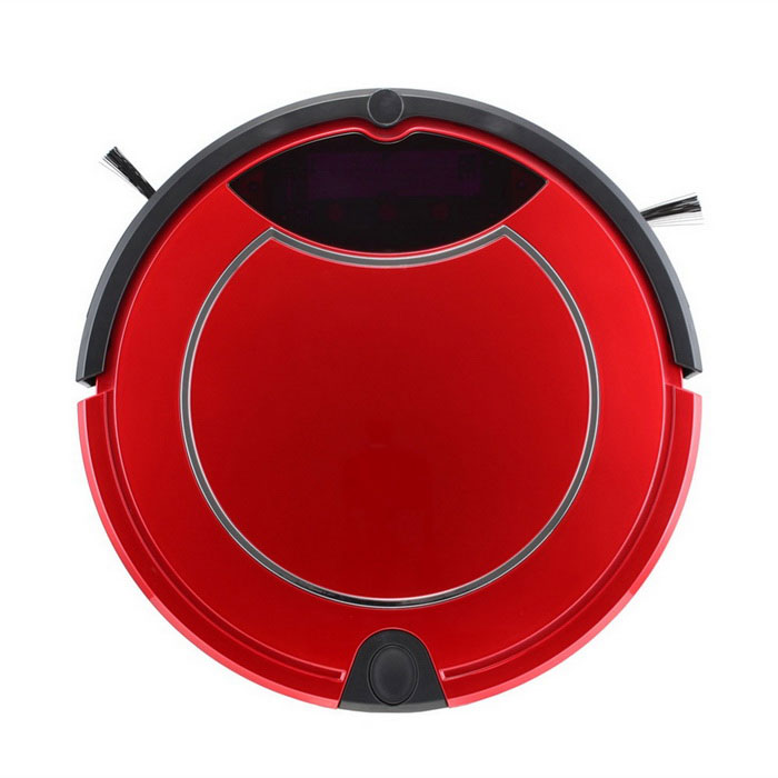 Intelligent Cleaning Robot Mini Vacuum Cleaner Robot Sweeper - Red