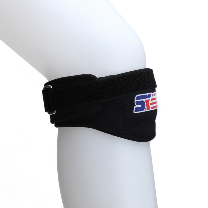 Knee Patella Kneecap Elastic Compression Brace Support Wrap Strap