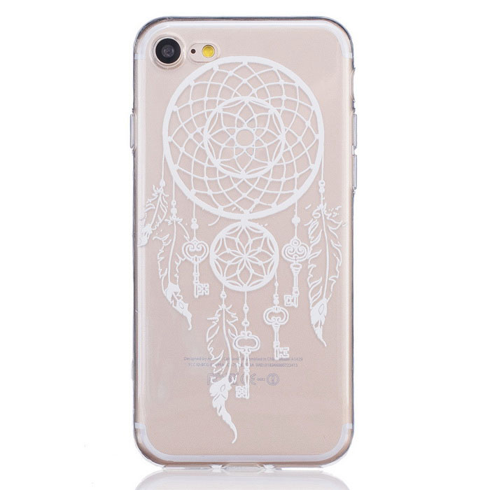 Key Campanula TPU Protective Case Cover for IPHONE 7 - Transparent