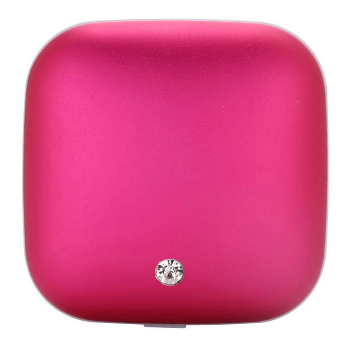 Hand Warmer / Mobile Power Supply - Dark Pink