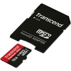 Transcend Premium 400x Micro SDHC 16GB with Adapter TS16GUSDU1