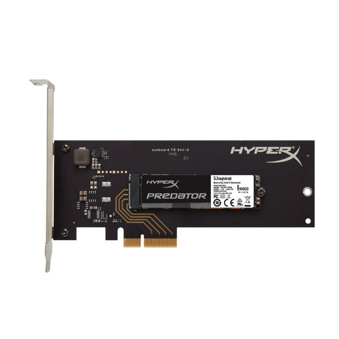 kingston saalistaja PCIe-sarja 960GB SSDNow M.2 SHPM2280P2H / 960 g