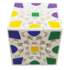 High Quality Third-order Gear Rubik's Cube - White