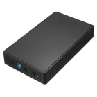 BSTUO USB 3.0 3.5'' Tool-Free SATA HDD Enclosure External Case - Black