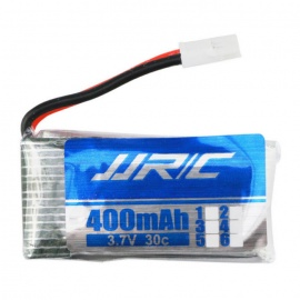 H31-011 Spare Parts 3.7V 400mAh Battery for JJRC H31 - Blue + Silver