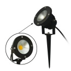 JIAWEN 8W COB LED Insert Lawn Lamp Cold White Light 640lm (AC85~265V)