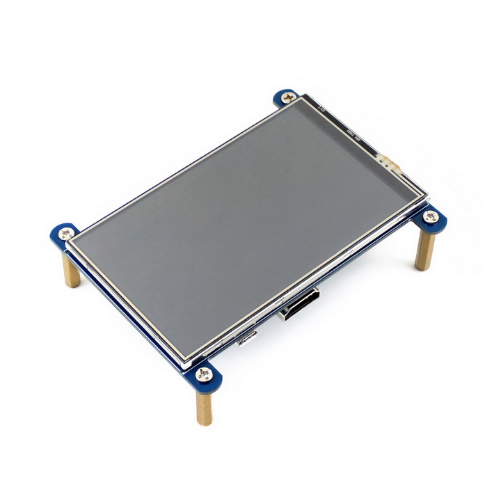 Waveshare 800*480 4 HDMI LCD For Raspberry Pi 3B/2B/B+/A+/Pi ZeroRaspberry Pi<br>Form  ColorBlueModelN/AQuantity1 DX.PCM.Model.AttributeModel.UnitMaterialFR4 + PCB + LCDEnglish Manual / SpecNoDownload Link   www.waveshare.com/wiki/4inch_HDMI_LCDPacking List1 * 4inch HDMI LCD1 * HDMI connector1 * Touch pen4 * Packs of RPi screws pack1 * DVD<br>