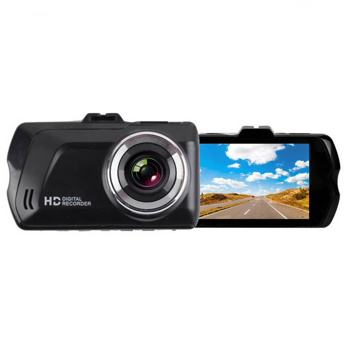 3.0 TFT 1080P 120 Wide-Angle LED Car DVR - BlackCar DVRs<br>Form  ColorBlackModelKELIMA-022Quantity1 DX.PCM.Model.AttributeModel.UnitMaterialZinc alloy + ABS.ChipsetOthers,Lian xuScreen Size3-3.9Other FeaturesMotion Detection,Microphone,Loop Record,HDMIScreen Resolution:1920 x 1080,640 x 480 DX.PCM.Model.AttributeModel.UnitCamera Pixel3-4.9MP DX.PCM.Model.AttributeModel.UnitVideo Resolution1920 x 1080,1440 x1080,1280 x 720 DX.PCM.Model.AttributeModel.UnitWide Angle120°-149°Camera Lens1Image SensorCMOSImage Sensor Size1/2.7 inchesCamera Pixel5.0MPExternal Camera PixelNoWide Angle120°Optical Zoom4XScreen TypeTFTScreen Size3.0 inchesISOOthers,100   200Exposure CompensationOthers,(-20.-5/3-4/3-1.0-2/3-1/3+0.0+1/3++2/3+1.0+4.3+5/3+2.0)White Balance ModeAutoVideo FormatAVIDecode FormatOthers,JPEGVideo OutputHDMIVideo Resolution720P(1280 x 720),1080FHD(1920 x 1080),VGA(640 x 480),WVGA(848 x 480)Video Frame Rate30ImagesJPEGStill Image Resolution5M 2592x1944,3M 2048x1536,Others,10M 3648x2736 1.3M 1280X960 VGA640X480  2MHD 1920X1080)Audio SystemMonophonyMicrophoneYesMotion DetectionYesAuto-Power OnYesLED QtyNoneIR Night VisionNoG-sensorYesLoop RecordOthers,1 2 3Delay ShutdownYesTime StampYes (ON Or OFF)Built-in Memory / RAMNoMax. Capacity32GBStorage ExpansionTFAV InterfaceMini HDMIData interfaceMini USBWorking Voltage   5 DX.PCM.Model.AttributeModel.UnitBattery Capacity300 DX.PCM.Model.AttributeModel.UnitWorking Time5-6 DX.PCM.Model.AttributeModel.UnitMenu LanguageEnglish,Russian,Greek,Arabic,Japanese,Korean,Chinese Simplified,Chinese TraditionalOther FeaturesThis machine window<br>Zinc alloy 3.0 inch screen hd 1080 p<br>Have/loop video/exposure compensation, motion detection, the TV mode, the accelerometer, parking guard, etc<br>120 degree grade A + high resolution ultra wide Angle lensPacking List1 * DVR1 * Car charger (12 to 24V, line length 300cm)1 * Stand1 * Cable (42cm)<br>
