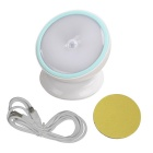 360° Rotating Motion Sensor LED Night Light Battery Powered Warm White