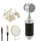 Professional Capacitor Microphone for Studio Recordings / Broadcast