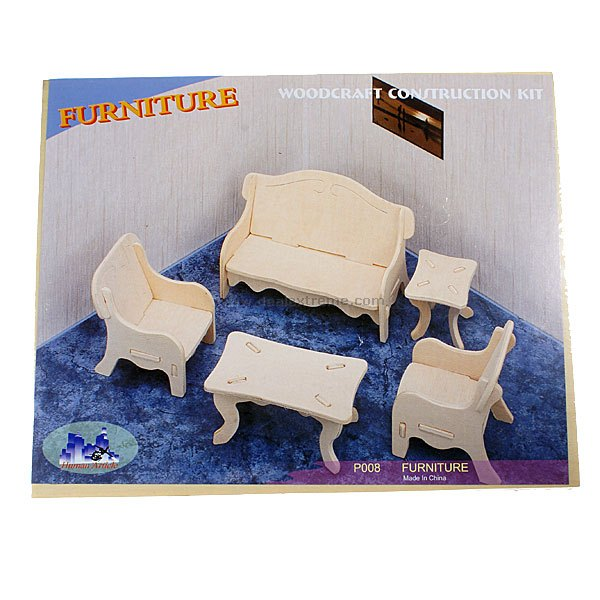 Woodcraft Construction Kit - Furniture