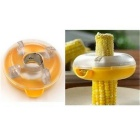 Creative Corn Threshing Device - Yellow + Translucent White