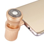 Hat-Prince Mini Portable Razor for Type-C Port Phone - Golden