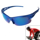 Men's Explosion-proof Sunglasses Outdoor Cycling Sunglasses - Blue