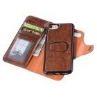 Protective Leather Case w/ Stand / Card Slots + PC Case for IPHONE 7