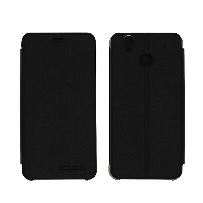 OCUBE PU Leather Case for Oukitel U7 PLUS Mobile Phone - Black