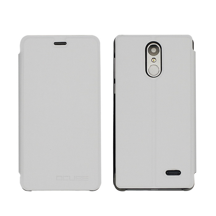 OCUBE PU Leather Case for Leagoo M5 Mobile Phone - White