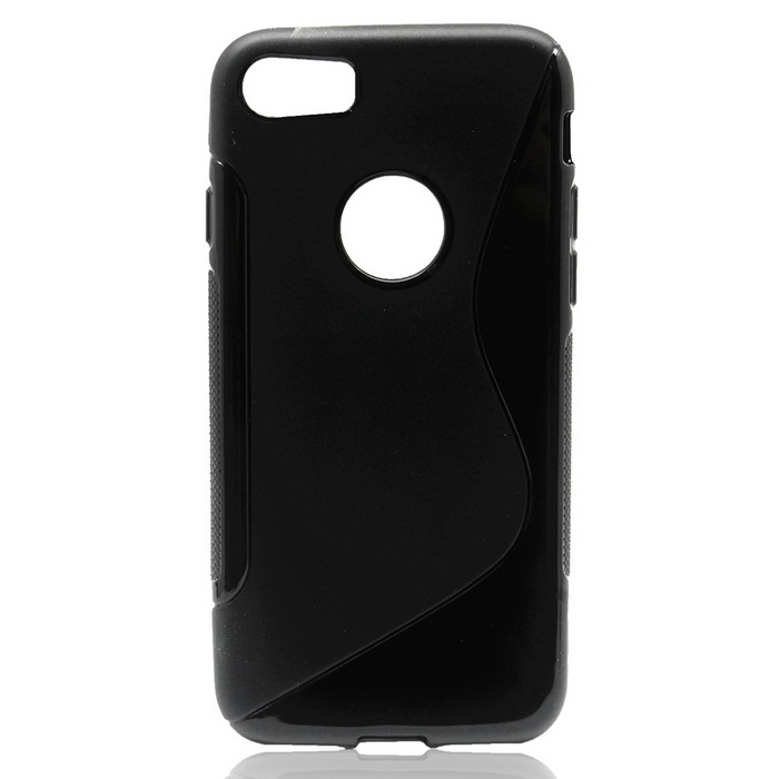 TPU Protective Back Case Cover for IPHONE 7 - BlackTPU Cases<br>Form  ColorBlackModelN/AQuantity1 DX.PCM.Model.AttributeModel.UnitMaterialTPUCompatible ModelsiPhone 7DesignSolid ColorStyleBack CasesPacking List1 * Case<br>