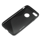 TPU Protective Back Case Cover for IPHONE 7 - Black