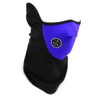 Motorcycle Sports Warm Neck Face Mask Veil Guard - Blue+ Black