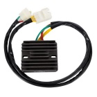Aluminum Alloy Voltage Regulator Rectifier Black for Honda CBR600 F4i 2001-2006