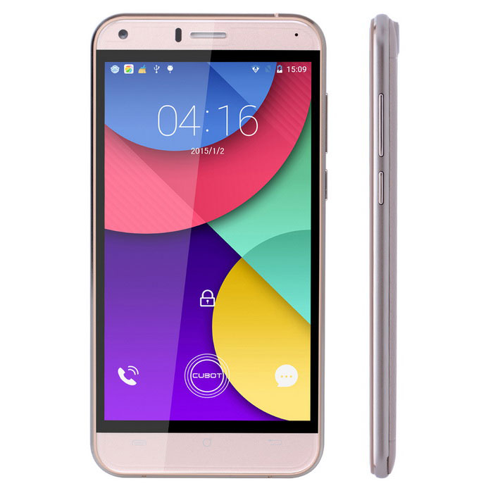 "CUBOT MANITO Android 6.0 4G Phone w/ 5.0""£¬ 3GB RAM£¬16GB ROM - Golden"