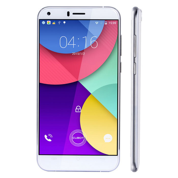 "CUBOT MANITO Android 6.0 4G Phone w/ 5.0""£¬ 3GB RAM£¬16GB ROM - White"