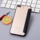 Flip Open PU Leather Case w/ Card Slots for IPHONE 7 Plus - Black