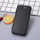 Flip Open PU Leather Case w/ Stand / Card Slots for IPHONE 7 - Black
