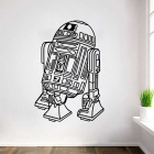Removable DIY 3D Stereo Star Wars Proverbial Decorative Wall Sticker