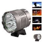 Super 4LED GY Water Resistant 3-Mode Neutral White LED Bike Light