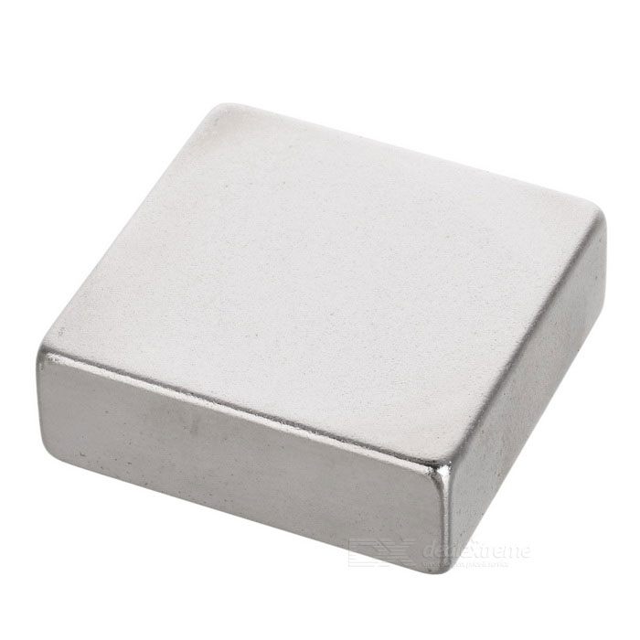 29*29*9.5mm Cuboid NdFeB Magnet - SilverMagnets Gadgets<br>Form  ColorSilverMaterialNdFeBQuantity1 DX.PCM.Model.AttributeModel.UnitNumber1Suitable Age 12-15 years,Grown upsPacking List1 * Magnet<br>