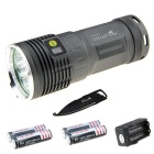 Ultrafire XM-L2 U2 3L2 2897lm Flashlight Kit w/ Multi-tool (4 * 18650)